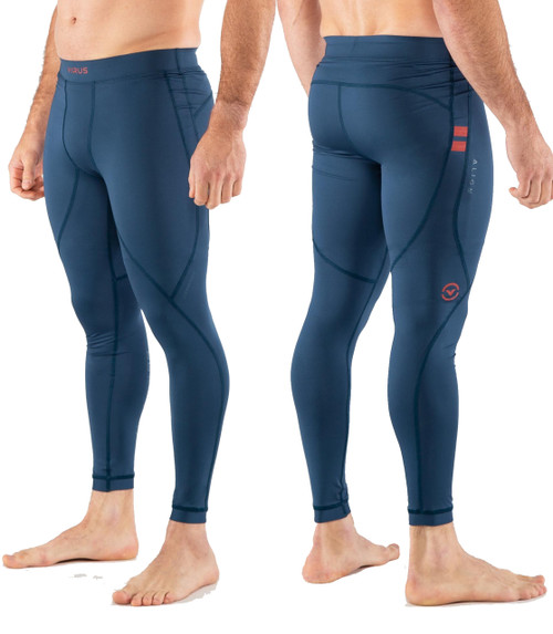 Virus CO38 ALIGN STAY COOL COMPRESSION PANT - Space Blue