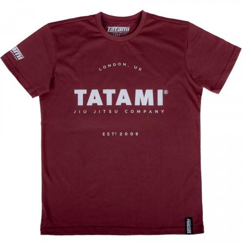 Tatami Burgundy Jiu Jitsu Company T-Shirt