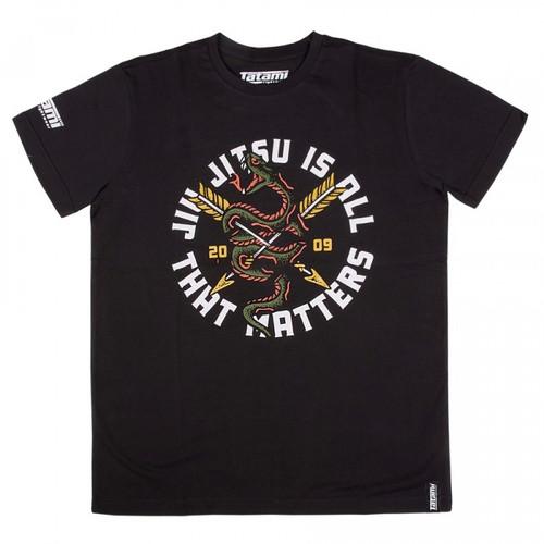 Tatami Black Jiu Jitsu is All That Matters T-shirt