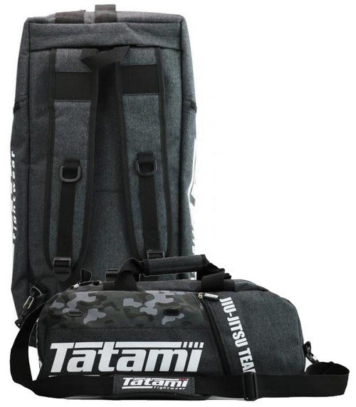 Tatami Grey Camo Jiu-Jitsu Gear Bag