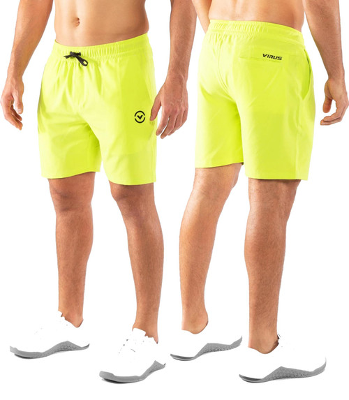 VIRUS ST9 Evo Performance Short - Lime Punch