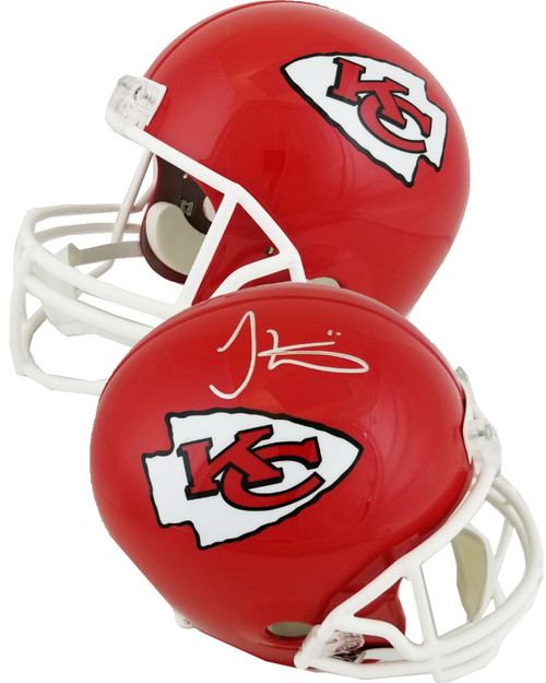 Tyreek Hill Autographed Full Size Replica Kansas City Chiefs Helmet (Fanatics Certified)