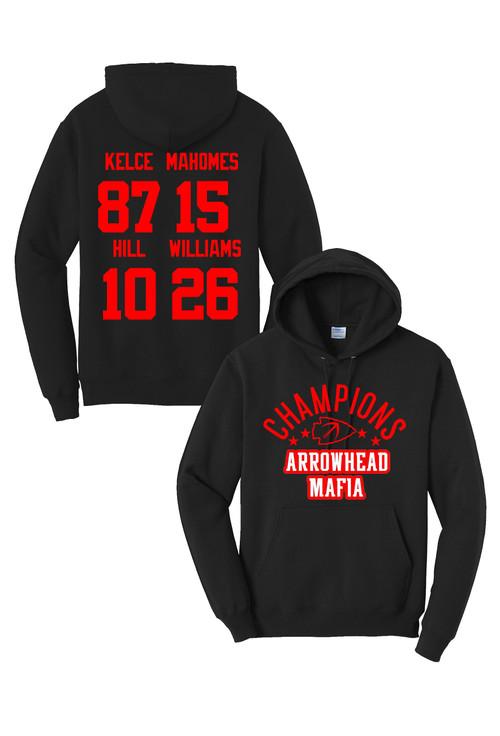 Arrowhead Mafia Champions Hoodie