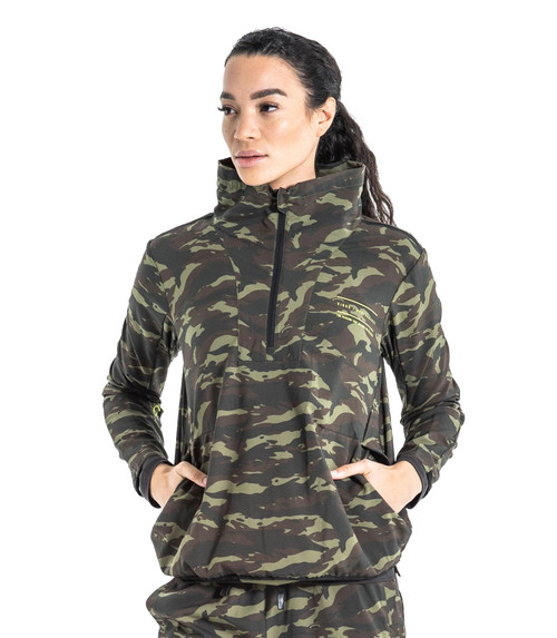 VIRUS WOMENS CASCADE CAMO JACKET