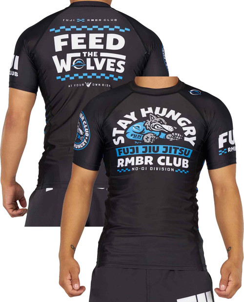 Fuji FUJI x RMBR Club Stay Hungry Short Sleeve Rashguard