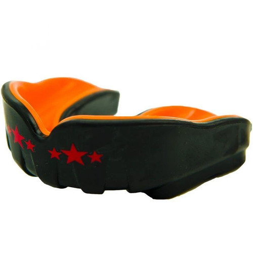 Yokkao MUAY THAI BOXING MOUTH GUARD BLACK/ORANGE