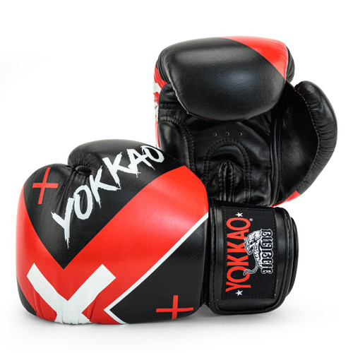 YOKKAO X-BLACK MUAY THAI BOXING GLOVES