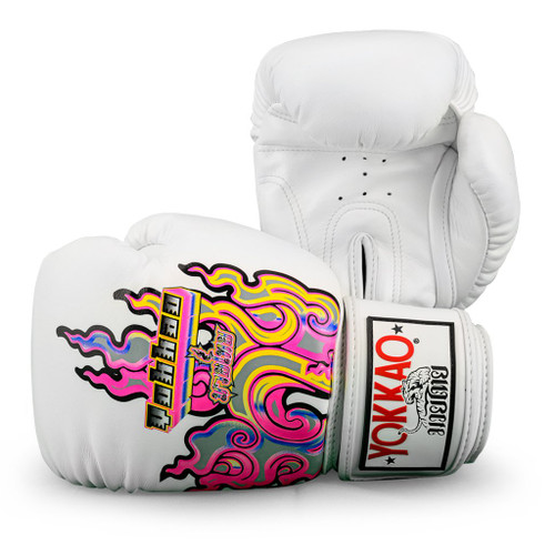 YOKKAO BANGKOK FLAMES BOXING GLOVES