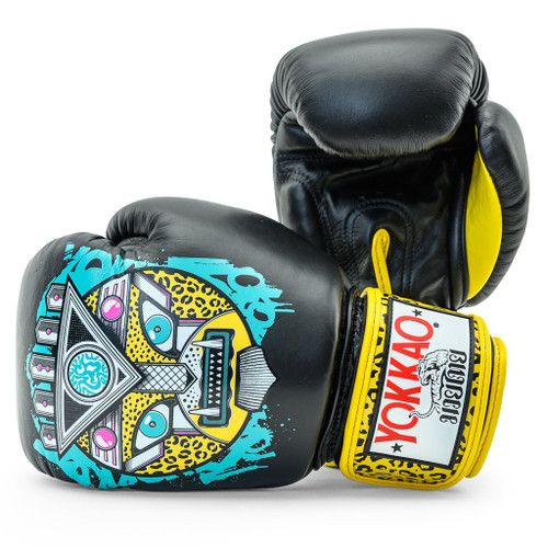YOKKAO APEX LEOPARD MUAY THAI BOXING GLOVES