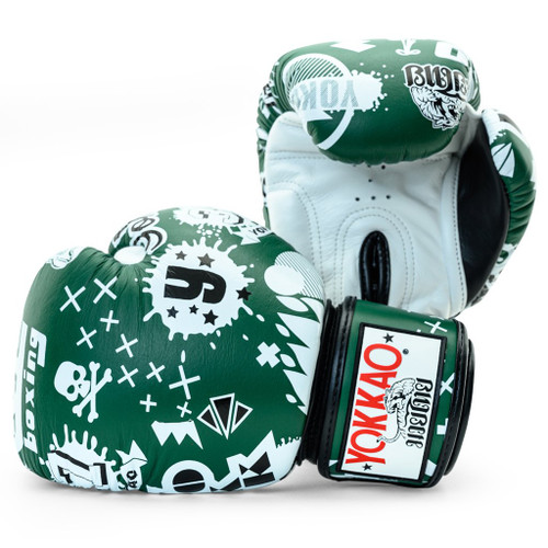 YOKKAO ROCK'N'ROLLA EDEN MUAY THAI GLOVES