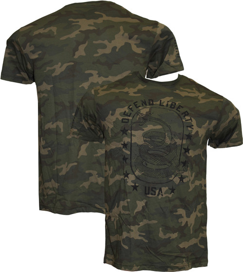 HOWITZER DEFEND CAMO SHIRT