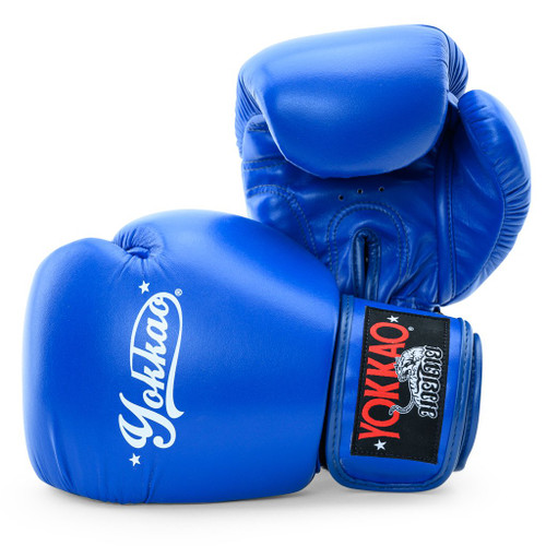YOKKAO VERTIGO BLUE MUAY THAI GLOVES