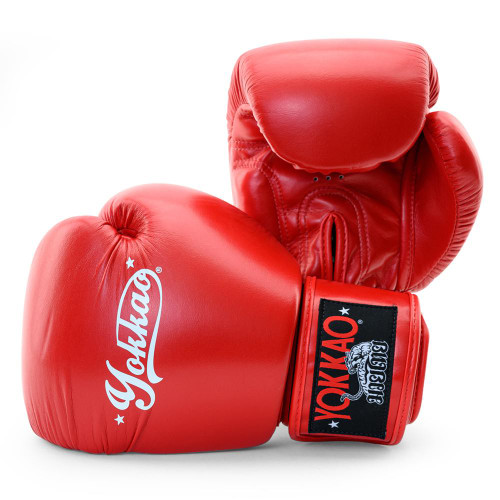 YOKKAO VERTIGO RED MUAY THAI GLOVES