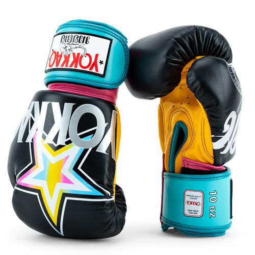 YOKKAO HAVANA BLACK BOXING GLOVES
