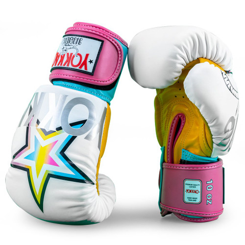 YOKKAO HAVANA WHITE BOXING GLOVES