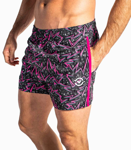 VIRUS HIGH TIDE GLEAMING SHORTS
