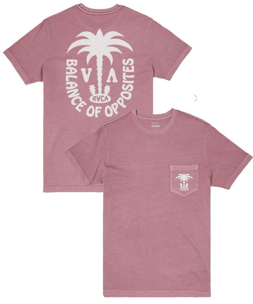 RVCA OASIS SHORT SLEEVE T-SHIRT
