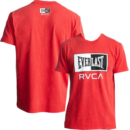 RVCA X EVERLAST BOX T-SHIRT