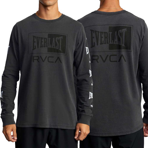 RVCA X EVERLAST BOX LONG SLEEVE T-SHIRT