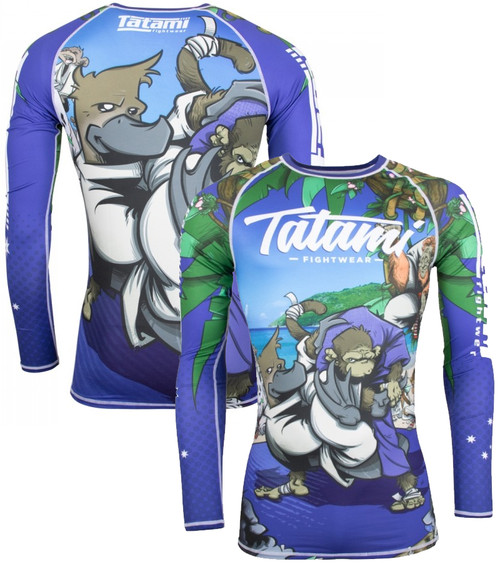 TATAMI OMOPLATAPUS LONG SLEEVE RASH GUARD