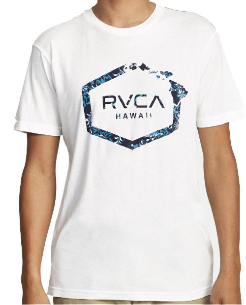 RVCA ISLAND HEX FILL SHORT SLEEVE T-SHIRT
