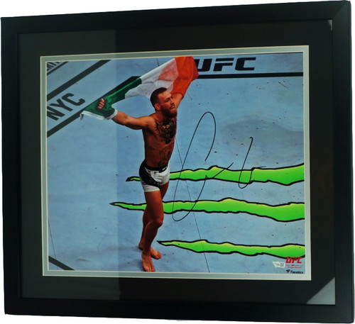 Conor McGregor Autographed & Framed 16x20 Photo (Fanatics Authenticated)
