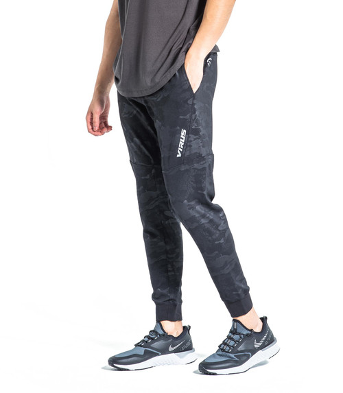 VIRUS ICONX BIOCERAMIC PERFORMANCE PANTS - BLACK CAMO