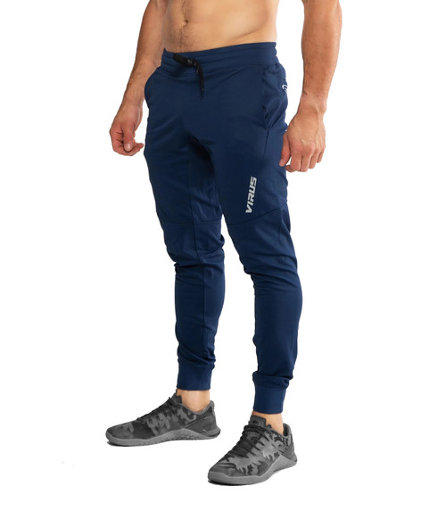 VIRUS ICONX BIOCERAMIC PERFORMANCE PANTS - NAVY