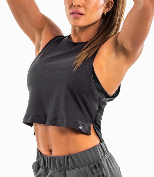 Virus WET03 Womens Pistol Crop with MESH