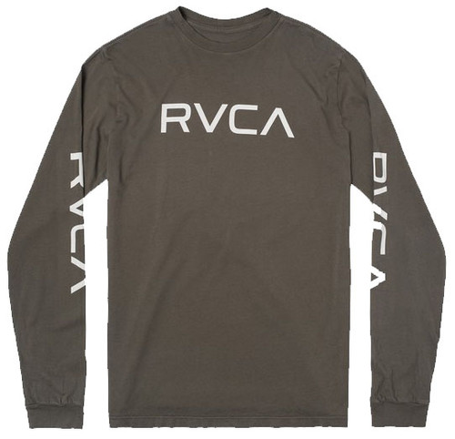 RVCA BIG RVCA LONG SLEEVE OLIVE TEE