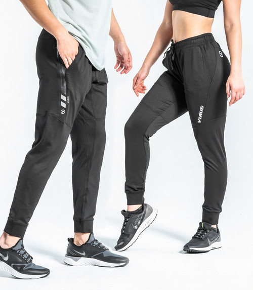 VIRUS AU26 ICONX BIOCERAMIC PERFORMANCE PANT BLACK/SILVER