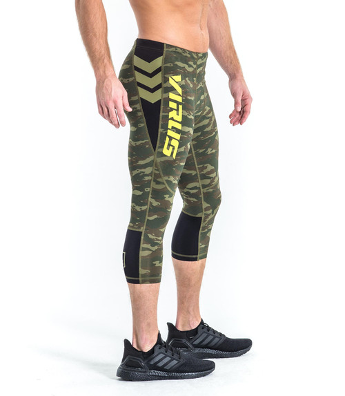 VIRUS GUNNER 3/4 COMPRESSION PANTS - LIMITED EDITION CAMO