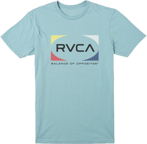 RVCA QUAD SHORT SLEEVE TEE