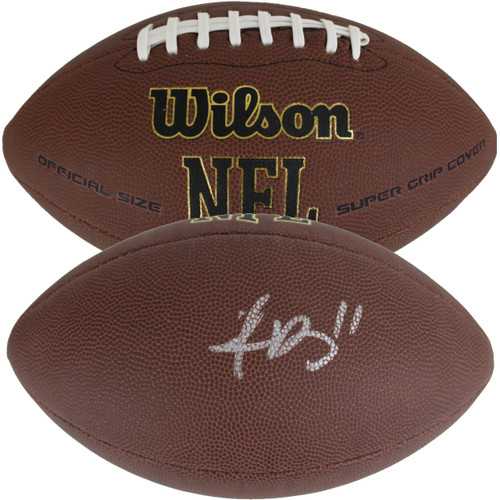 A.J. Brown Autographed Wilson NFL Football (JSA Witness COA)