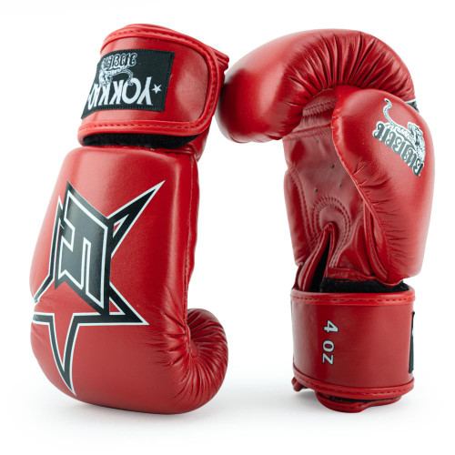 YOKKAO INSTITUTION RED BOXING GLOVES