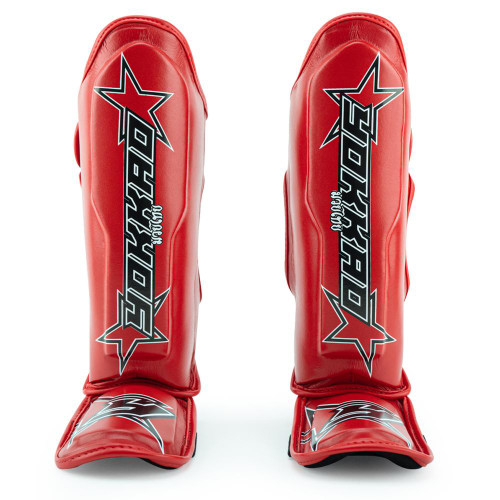 YOKKAO INSTITUTION RED SHIN GUARDS