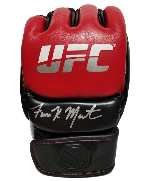 Aljamain Sterling Autographed Red UFC Glove