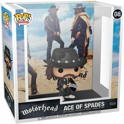 Motorhead Ace of Spades Pop! Album Figure with Case