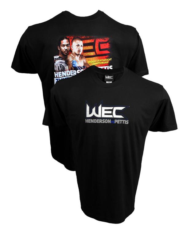 WEC 53 Henderson vs Pettis Shirt