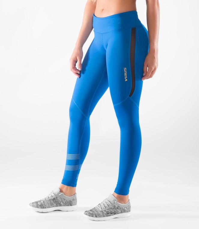 Virus Women's Bioceramic™ Mesh Compression Pants (EAU33) Electric Blue