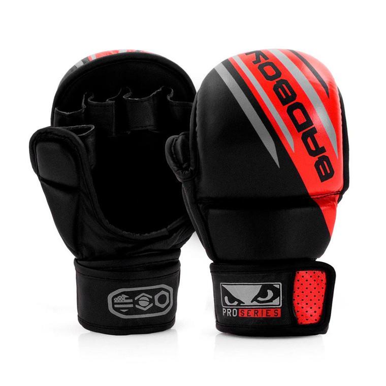 Bad Boy Pro Series Advanced Safety MMA Gloves Black/Red