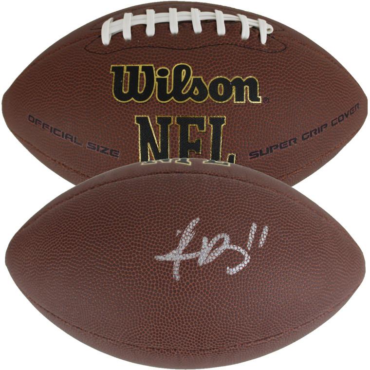 A.J. Brown Autographed Wilson NFL Football (JSA Witness COA)