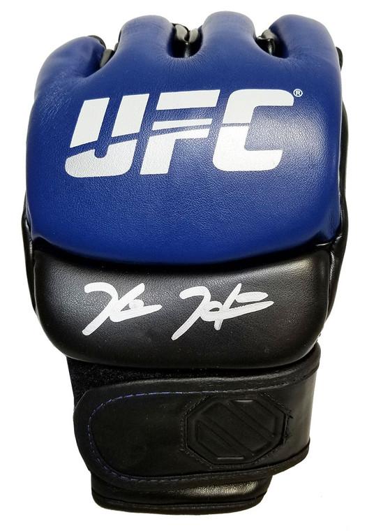 Kevin Holland Autographed UFC Blue Glove