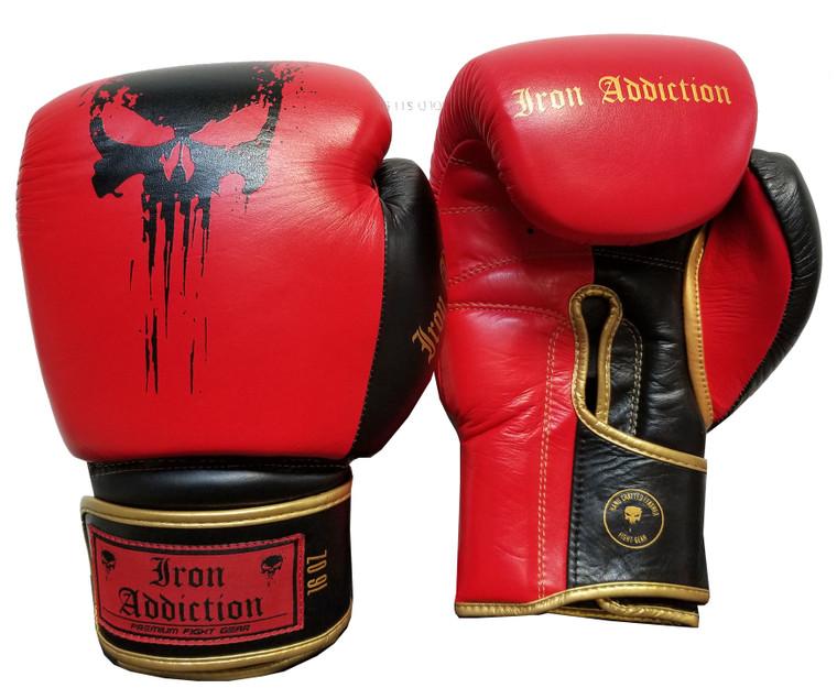 Iron Addiction Thrasher Leather Gloves