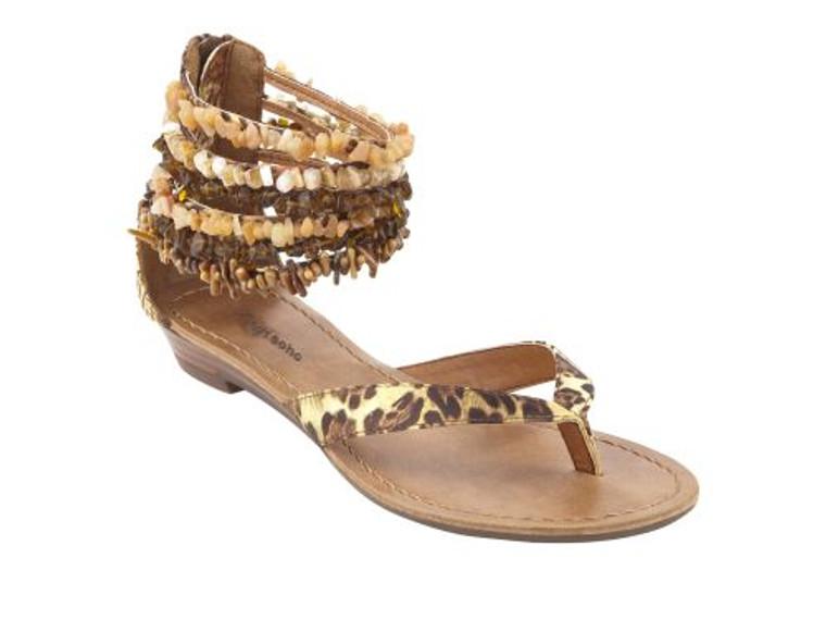 Zigi Soho Must Have Brown Multi Flat Sandals