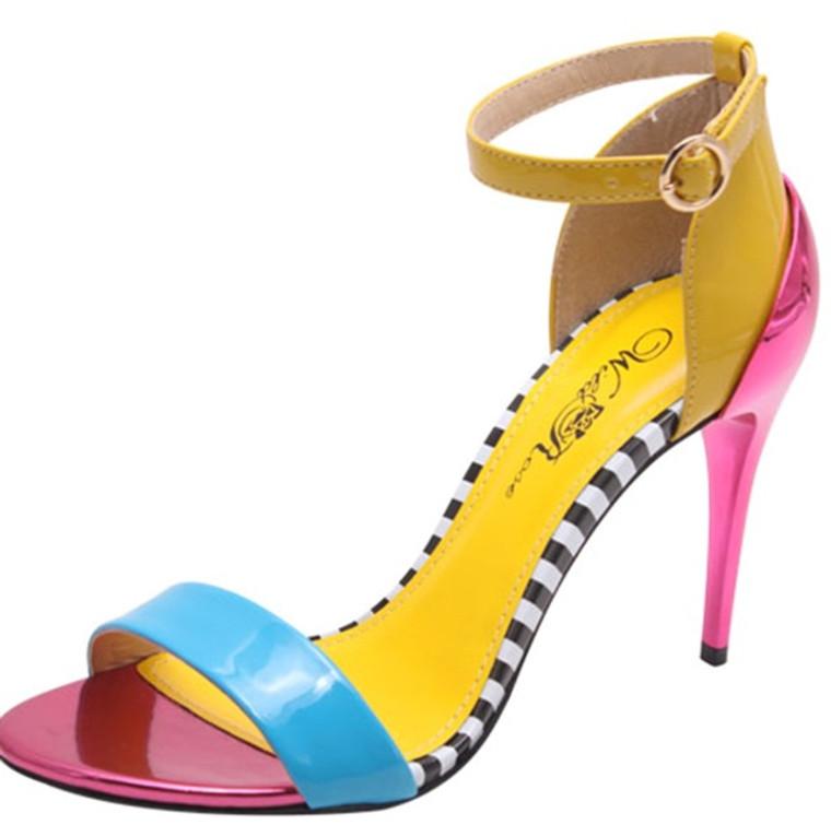Wild Rose Tamara Multi-Color Sandals