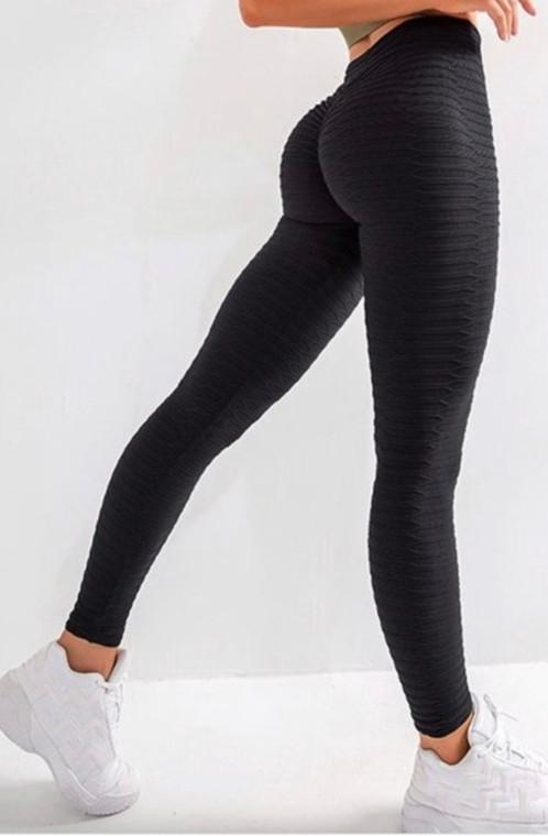 Black Better Booty High Waist Shirring Hip Leggings