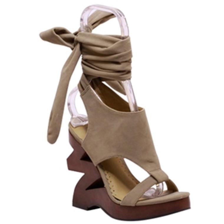 Wild Rose Zayne- 05 Sand Wedge Sandals