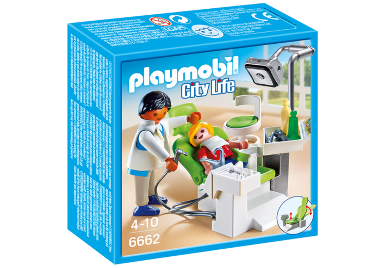 for Kids 4 and up Playmobil City Life Doctor and Patient 70079