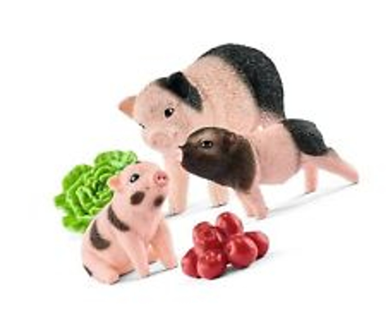 Schleich Farm World Miniature Pig Mother and Piglets 42422 NEW